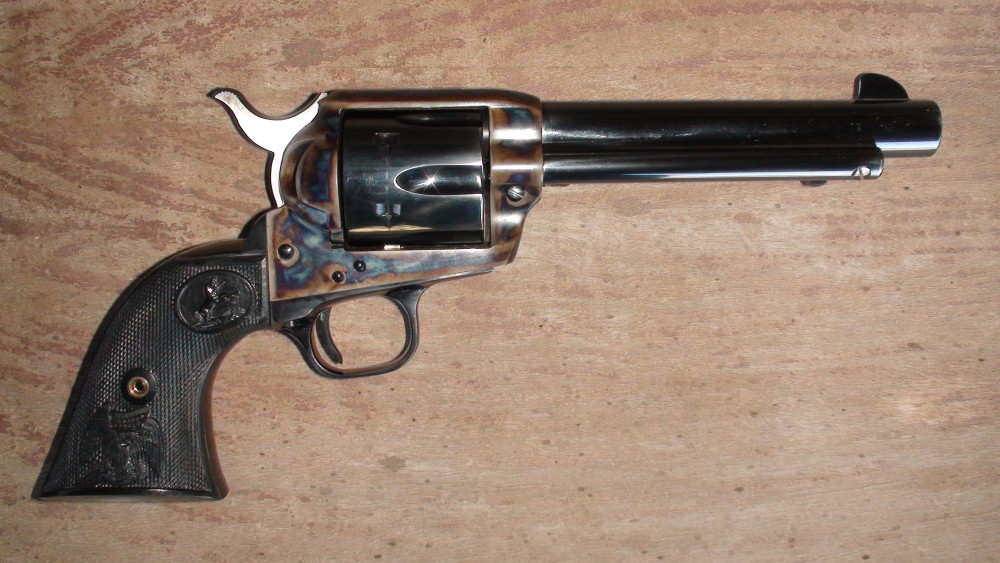 Colt-manufacturing-45-pistol-made-for-Bob-Terry